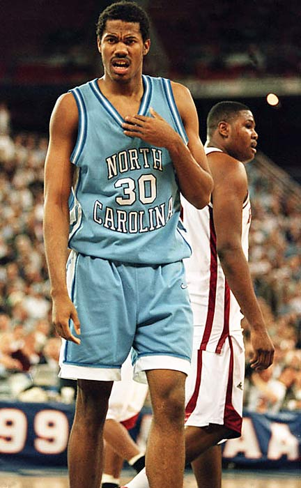 Wallace led the Tar Heels to the Final Four in 1995 and was named a Second Team AP All-America that year.