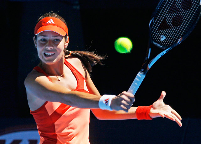Former No. 1 Ivanovic had her best showing at the Australian Open since reaching the final in 2009 (a loss to Maria Sharapova). But she was out-gunned by Petra Kvitova in a 6-2, 7-6 (2) fourth-round loss.