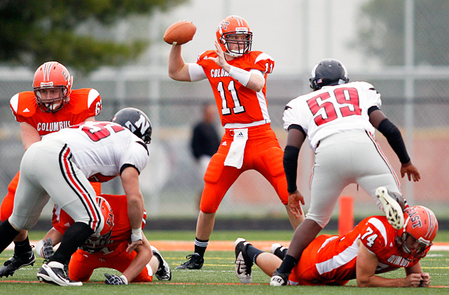 High School:  Columbus East (Ind.)  Height:  6-4  Weight:  210 A former Indiana pledge, Kiel reopened his commitment in October and declared to LSU before enrolling at Notre Dame. He could make an instant impact in South Bend. Indiana's Mr. Football threw for 2,517 yards, 28 touchdowns and just four interceptions during his standout senior season at Columbus East.
