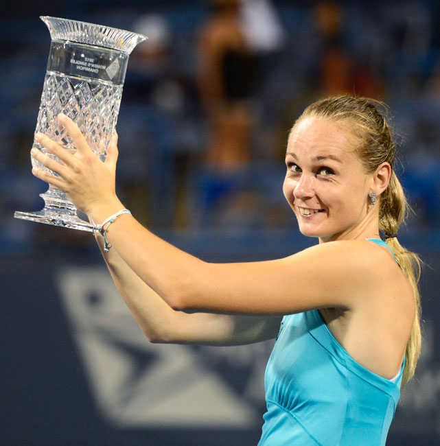 def. Anastasia Pavlyuchenkova 6-1, 6-1 WTA International, Hard, $220,000 Washington D.C.
