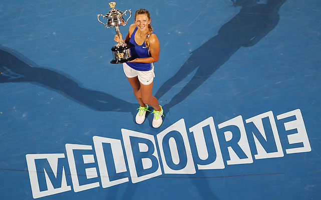 def. Maria Sharapova 6-3, 6-0 Grand Slam, Hard (Outdoor), $12,122,762 Melbourne, Australia