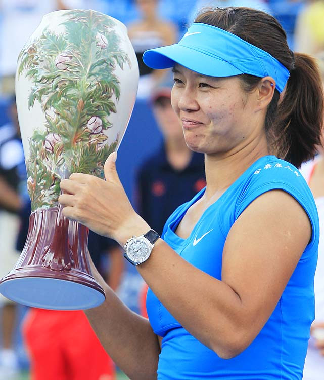 def. Angelique Kerber 1-6, 6-3, 6-1 WTA Premier, Hard (Outdoors), $2,168,400 Mason, Ohio