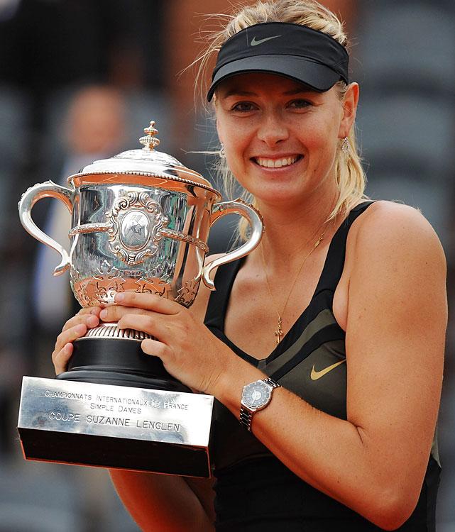 def. Sara Errani 6-3, 6-2 Grand Slam, Clay (Outdoor), $11,315,740 Paris