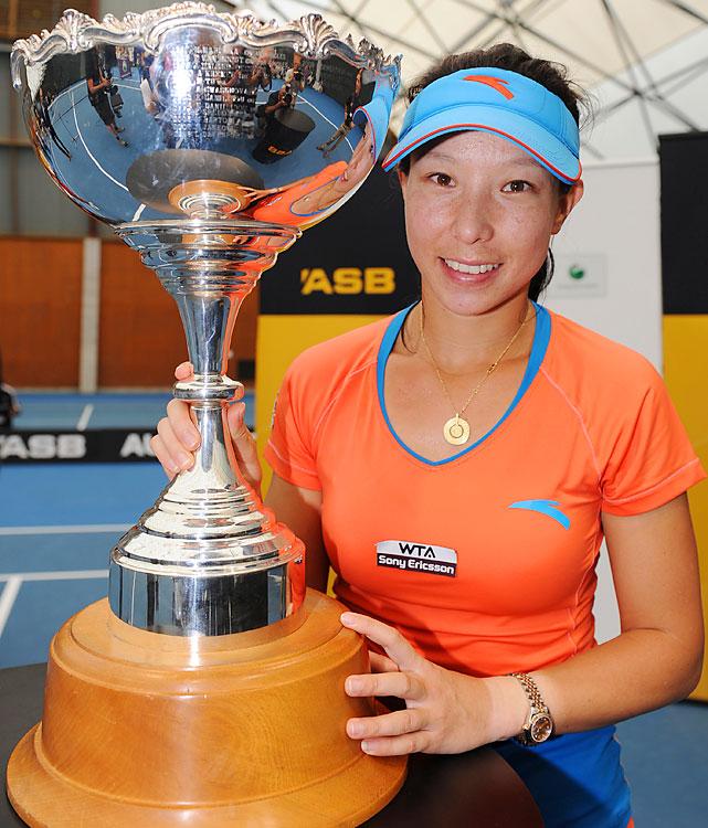 def. Flavia Pennetta 2-6, 6-3, 2-0 (ret.) WTA International, Hard (Outdoor), $220,000 Auckland, New Zealand