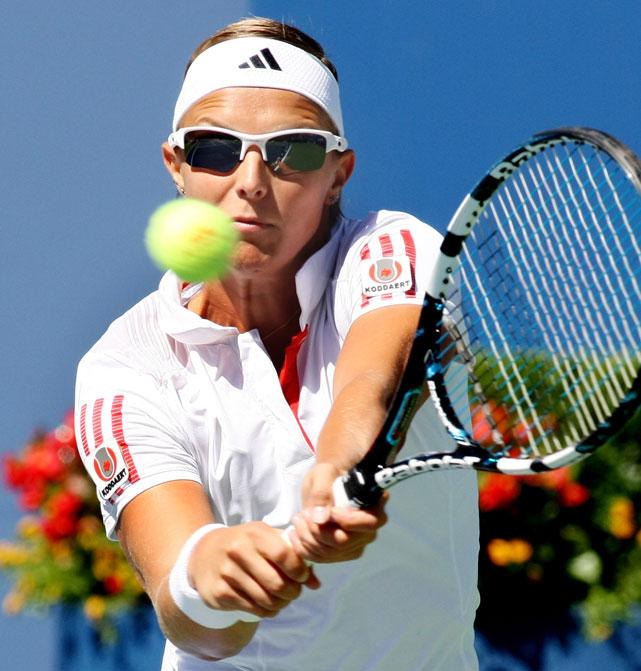 def. Lucie Hradecka 6-1, 7-5 WTA International, Hard (Indoors), $220,000 Quebec City, Canada