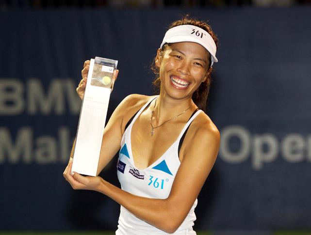 def. Petra Martic 2-6, 7-5, 4-1 (Ret'd.) WTA International, Hard (Outdoor), $220,000 Kuala Lampur, Malaysia
