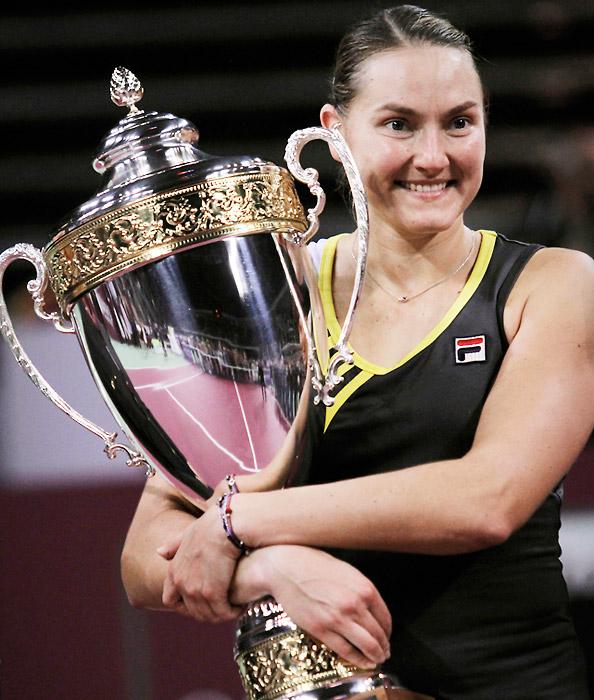 def. Caroline Wozniacki 6-2, 6-1 WTA International, Indoor Hard, $750,000 Sofia, Bulgaria