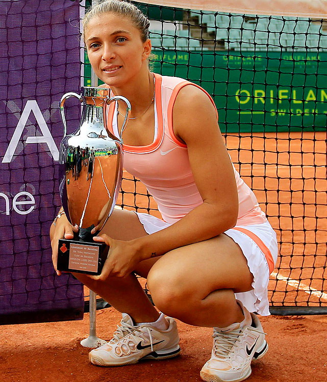 def. Dominika Cibulkova 6-2, 6-2 WTA International, Clay, $220,000 Barcelona