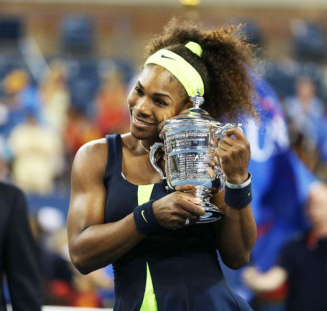 def. Victoria Azarenka 6-2, 2-6, 7-5 Grand Slam, Hard, $11,517,008 New York