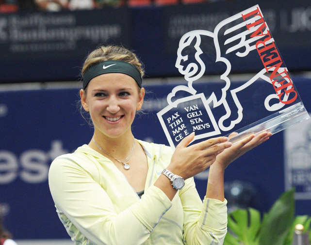def. Julia Goerges 6-3, 6-4 WTA International, Indoor Hard, $220,000 Linz, Austria