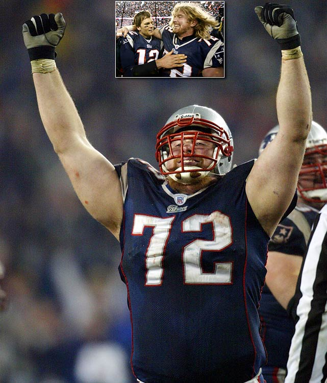 The 33-year-old won three Super Bowls as a member of the New England Patriots offensive line. During his career he was named to four Pro Bowls, and was selected as an All-Pro in 2007.  Light was named to the New England Patriots All-2000's team as well as the Patriots' 50th Anniversary Team.