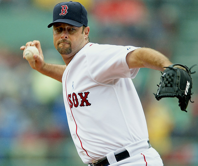 The longtime knuckleballer announced his retirement on Feb. 17. Wakefield, who started his career as a first baseman, played 19 seasons in the pros, finishing third in Red Sox history with exactly 200 wins.