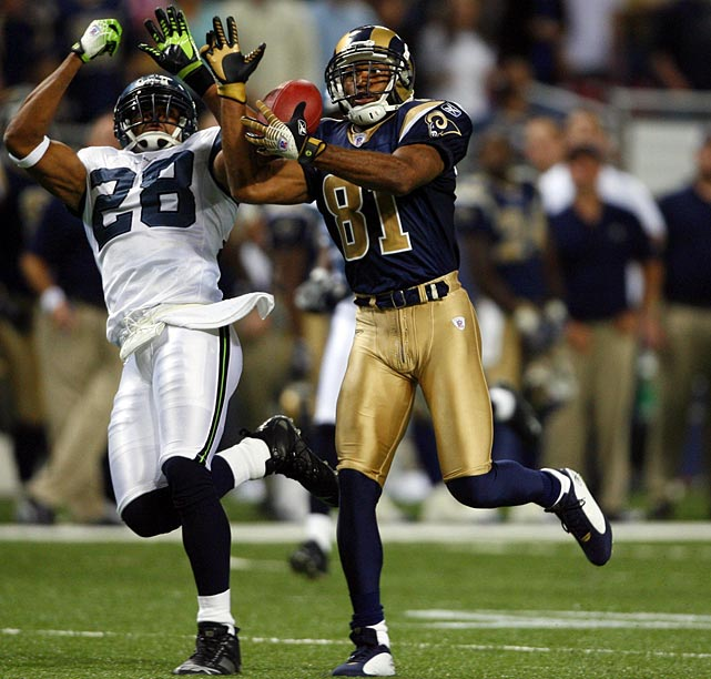 Holt may not have played a single down of professional football since 2009, but the longtime star wide receiver officially announced his retirement on April 4 as a member of the St. Louis Rams.  Holt signed a one-day contract with St. Louis, the team for which he played the majority of his career.  The 35-year-old played 10 seasons with St. Louis before spending one year with Jacksonville in 2009.  In total he hauled in 920 passes for 13,382 yards and 74 touchdowns.