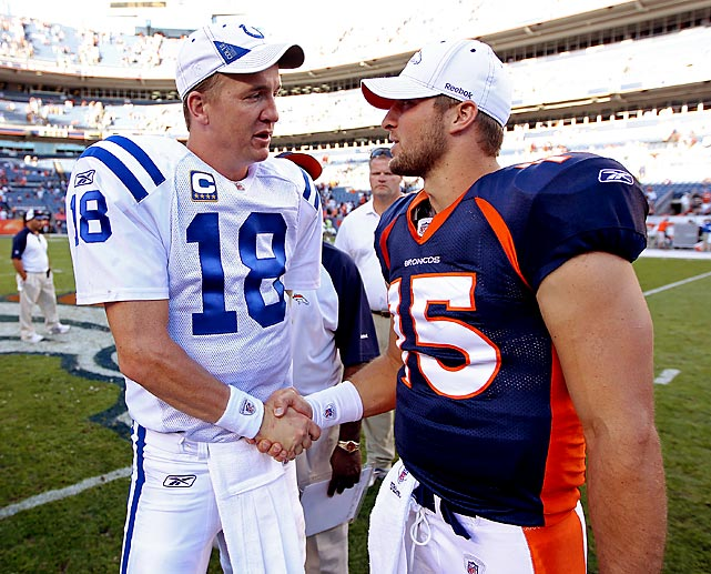Less than two weeks after he was let go by the Indianapolis Colts, Peyton Manning revealed on March 19 that his new team would be the Denver Broncos. Among other ripple effects, the decision meant  the AFC West team would try to trade incumbent starting quarterback Tim Tebow.