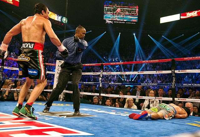 After three close bouts, Juan Manuel Marquez dealt Manny Pacquiao the knockout punch that the rivalry needed. The devastating punch from the 39-year-old came in the sixth round, left Pacquiao lying face-first in the ring for two minutes, and left some wondering if Pacquiao -- who had until recently been seen as unstoppable -- should retire.