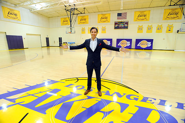 The Los Angeles Lakers acquired two-time league MVP Steve Nash from the Phoenix Suns in a sign-and-trade. The deal for the 38-year-old point guard gave the Suns first-round draft picks in 2013 and 2015, and second-round picks in 2013 and 2014. Nash will join Kobe Bryant in hopes of securing another title for the 16-time NBA champion Lakers.  Entering his 16th season, Nash signed a three-year contract worth over $25 million.