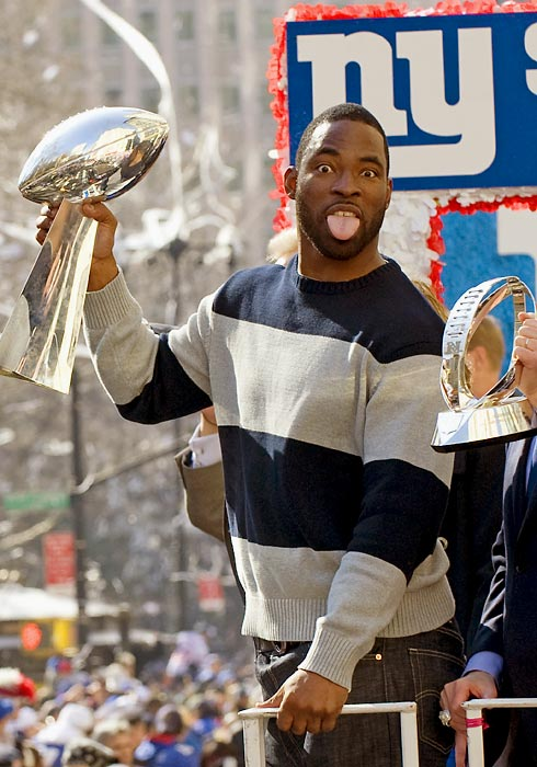 The taste of Super Bowl triumph.
