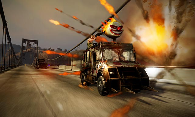 After a lengthily hiatus Sony's frenetic racing survival game has returned. The storyline of Twisted Metal is definitely adult, a tad nutty, and naturally in the works as a feature film, but the heart of the game is the tremendous frenetic action once you get behind the wheel. The game features a challenging single-player campaign, but 16-player online multiplayer and local split-screen modes are where you'll want to spend the most time. The array of death dealing vehicles -- you'll unlock as you play more -- is impressive, as are the various power-ups and abilities you can use to clear the roads for victory. The graphics and audio in Twisted Metal are front and center, and are further enhanced by loud and destructible environments.  Score: 9 out of 10