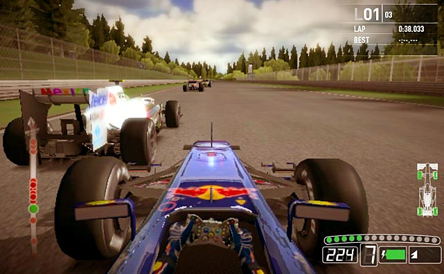 As the software library of the Vita expands, there's going to be plenty of ports of established titles coming down the road. An early entrant is F1 2011, which offers racing fans a robust career mode and multiplayer racing with all the drivers, tracks and cars you'd expect. Gamers that prefer more simulation-style racing over arcade will definitely appreciate F1's grinding races and learning curve, though you can dial down the difficulty if you're not an expert at racing games. The graphics in F1 2011 are solid, but the audio is a little underwhelming. As an early port F1 2011 leaves plenty of room for improvement.  Score: 6.5 out of 10