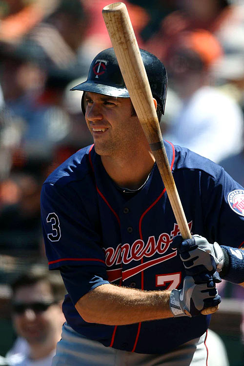 We can all agree now that Mauer's power spike in 2008 was a total fluke, and he has about as much chance of repeating it as the Astros do of winning the World Series this year, right? OK, good. I'll grant you that it's safe to project his batting average to climb back above .300 with an OBP that borders on or surpasses .400. Still, I'm not paying a Top-80 draft price for a catcher who has hit 12 homers in his last 917 at-bats, positional scarcity be damned. Remember, he has little offensive support around him even if Justin Morneau is healthy this season.