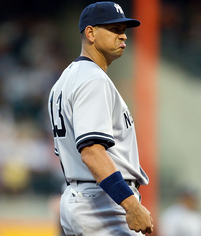 The Yankee third baseman placed ninth with a 44 percent dislike rating.