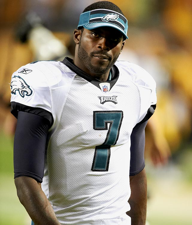 Vick has successfully resuscitated his NFL career since serving a prison sentence for felony dog fighting, but he still has a ways to go when it comes to reviving his reputation. The Eagles quarterback placed first on Forbes' overall list of most-disliked athletes with a score of 60 percent disliked.  Here are the other who made the Forbes' list.