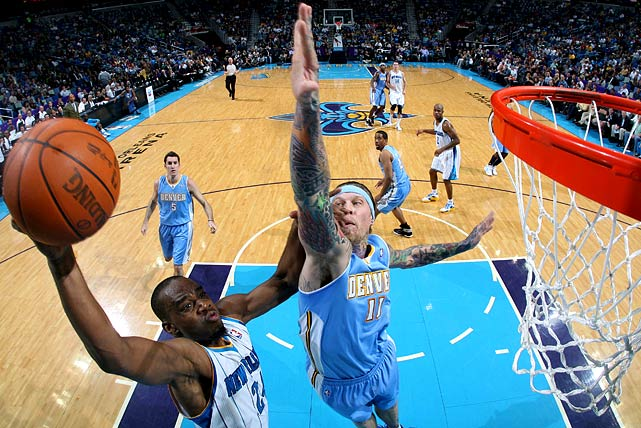 """Birdman"" finished second in the league in blocks in 2008-09, when his defense and energy off the bench helped spark Denver to the conference finals. The Nuggets then rewarded Andersen with a five-year, $21 million contract."