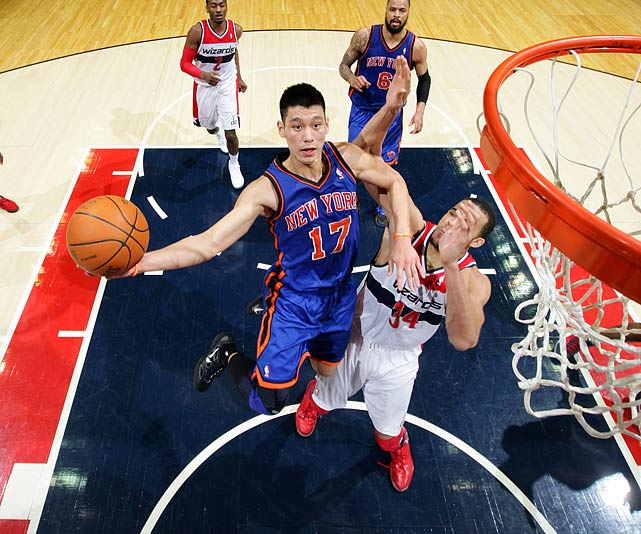 It's very early, of course, as Lin has played only 64 regular-season games over two seasons. But consider what the twice-waived guard from Harvard did in 25 starts with the Knicks in 2011-12: 18.2 points and 7.7 assists while leading New York to a 15-10 record.   Read on for the players who have earned spots here with a longer track record of success.