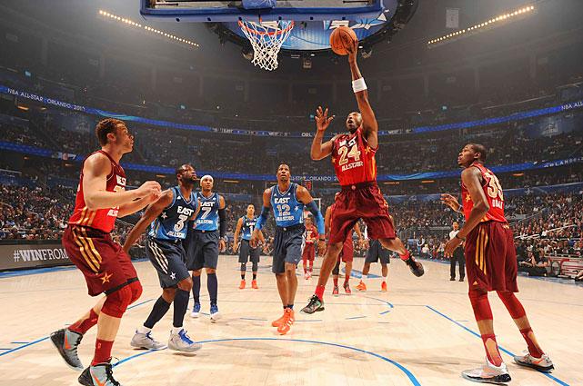Kobe Bryant passed Michael Jordan as the leading scorer in All-Star history.