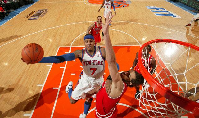 F, New York Knicks Fifth All-Star nod