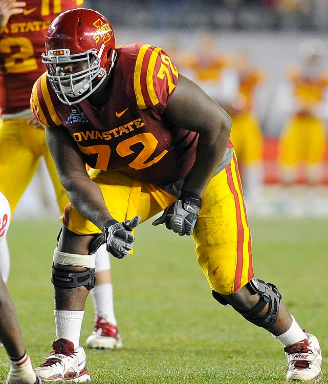Osemele was a fine left tackle for Iowa State that exceeded expectations on the field.  He possesses the skill set to move to the strong side and offers the body type for offensive guard.  Wherever he ends up Osemele should be a productive starter in the NFL.