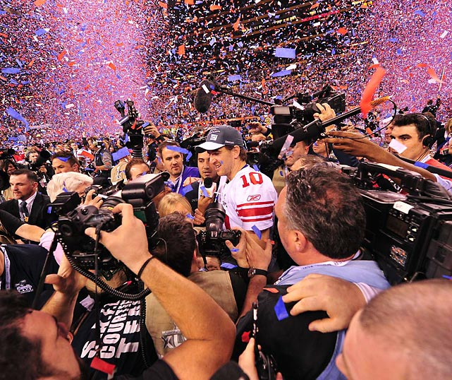 Eli now has two Super Bowl victories to older brother Peyton's one.