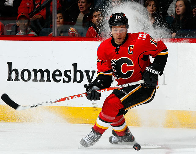 When the Flames' playoff hopes were flickering, Iginla's name was front and center, but now that the postseason is a possibility, the focus turns more to finding an elite center for him. Injuries, six pending UFA's and cap issues complicate the picture, but if the Flames fizzle suddenly before the deadline, Iglina could be moved, although the odds are long.    CLICK HERE   for Stu Hackel's team by team roundup of trade deadline needs and rumors.