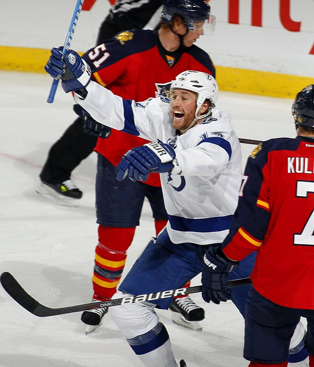 Malone, 32, is a rugged 6-4, 219-pound winger with some scoring touch and playoff experience who carries a $4.5 million cap hit. With Tampa Bay's season slipping away, he's reportedly been eyed by Toronto, Los Angeles, Detroit and Vancouver. The only concern is that injuries have limited him in recent seasons and he's been battling an upper body injury. His teammate, forward Dominic Moore, is also said to be on the block.   CLICK HERE   for Stu Hackel's team by team roundup of trade deadline needs and rumors.