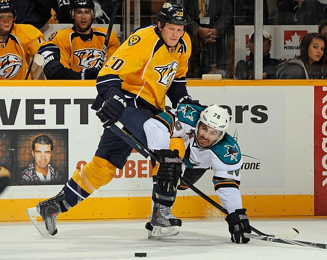 In the final year of his contract, Suter, an impending UFA, has said he won't negotiate a new deal before the deadline, and that puts the Predators on the spot. He's one of their defensive cornerstones and GM David Poile's task is to convince Suter that the Preds are serious about building on their modest playoff success of last season by acquiring needed offensive help. No new deal means Suter could walk for nothing next summer. Does Poile trade him and hope to work out a long term deal with Shea Weber?     CLICK HERE   for Stu Hackel's team by team roundup of trade deadline needs and rumors.
