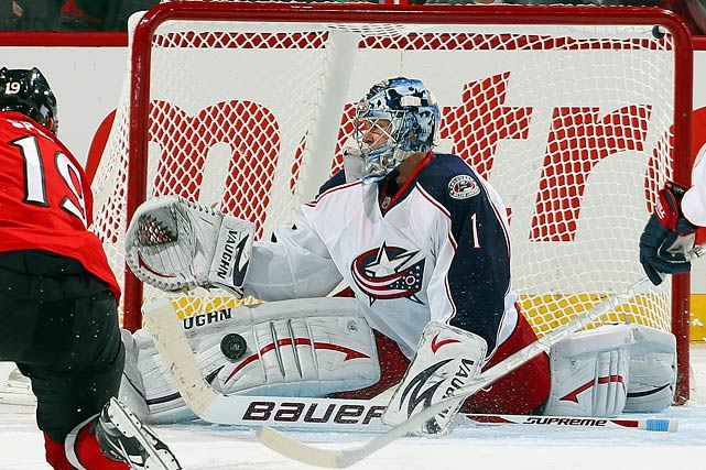 No Jacket is safe after the shipwreck season the team has had, and with goaltenders in demand, the 2009 Calder Trophy winner is likely to be available, at a cap hit of $2.9 million. He has struggled, however, for some time to regain his rookie form but could be a useful pickup for a team willing to take on a reclamation project with upside.   CLICK HERE   for Stu Hackel's team by team roundup of trade deadline needs and rumors.