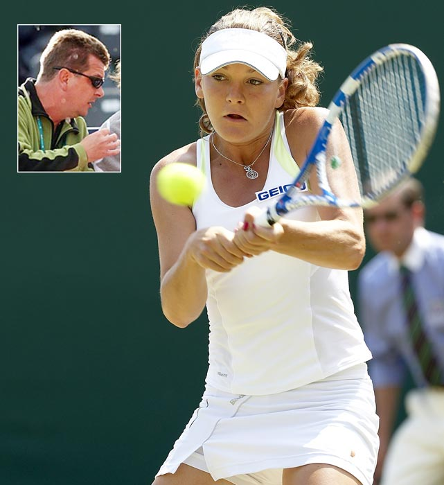 Radwanska introduced Agnieszka (pictured) and Urszula to tennis at age 4 and 5, respectively. Agnieszka, a top-10 player, had worked with him for most of her career before going in a different direction in January 2012. She hired her sister's coaches, Borna Bikic (who was Jelena Dokic's coach) and Tomasz Wiktorowski. Robert still works with his daughters when they're home in Poland, but does not travel with them.
