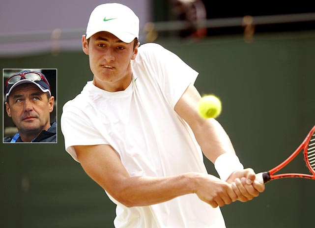 The elder Tomic has had some tension with Tennis Australia, including a heated moment at the 2010 Australian Open where he blamed tournament director Craig Tiley for Tomic's second-round loss to Marin Cilic.