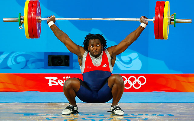 Farris placed 19th at the Beijing Olympics and 19th at the 2011 world championships at 85kg, the only U.S. man to finish in the top 20 at both events. He also set an American record in the clean and jerk on his way to the 2010 Pan American championship.
