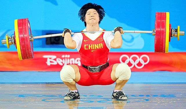 Liu is the only other woman to win two Olympic golds, also in 2004 and 2008. Liu holds the clean and jerk and snatch world and Olympic records in her weight class. With Chen reportedly retired, Liu can become the only three-time champion in London.