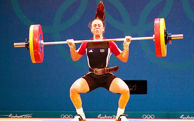 Nott is the only U.S. female weightlifter to win Olympic gold, doing so in the first Games that included women lifters in 2000. A former gymnast and soccer player, Nott was elevated from silver to gold after a Bulgarian tested failed a drug test.