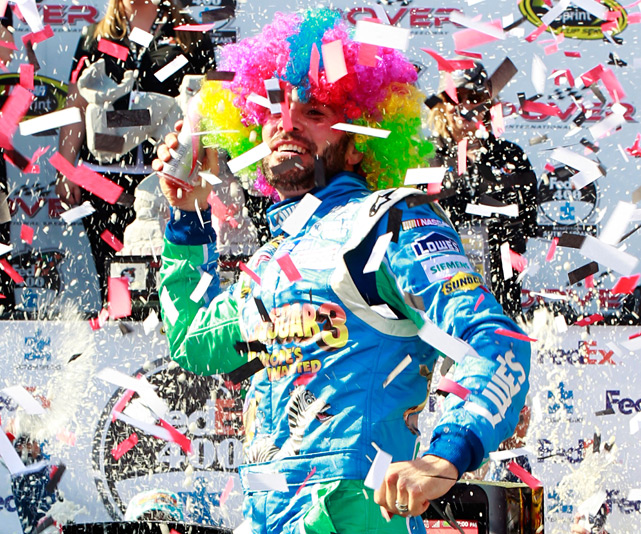 Johnson led 289 of the 400 laps to earn his seventh career win at Dover, tying Richard Petty and Bobby Allison for the most all time. It was also the third consecutive trip to Victory Lane for Hendrick Motorsports in a points race, and the fourth straight win overall.