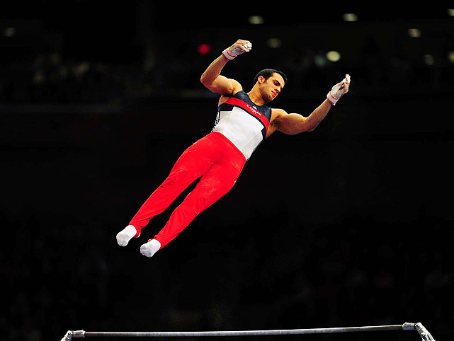 ... Leyva needed a pick-me-up. Two weeks ago, the reigning parallel bars champ received 80 stitches after one of his dogs took a swipe at him. ...