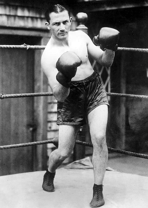 Lightweight champion 1917-24. Pro record: 85 wins, 69 KOs, five losses, one draw, 115 no-decisions.