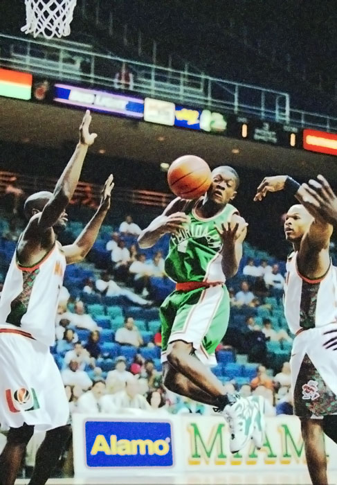 So does his brother, Scientific Mapp, who played hoops at Florida A&M.