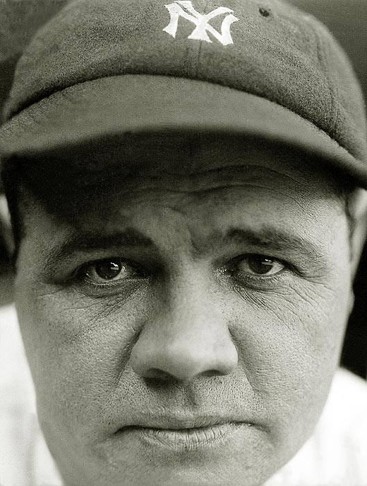 Ruth hit 60 home runs in 1927, a record that would be broken 34 years later by another Yankee, Roger Maris.