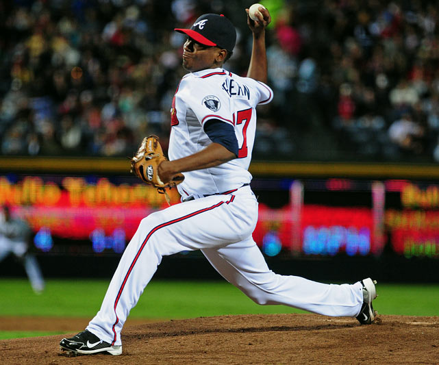 If the Braves weren't so deep with major league starters and major league ready pitching prospects, Teheran (Tuh-hair-an) might be at the top of this rookies list. Instead, he will have to settle for the No. 7 slot (on this list and in terms of Braves starters behind Tommy Hanson, Tim Hudson, Jair Jurrjens, Brandon Beachy, Mike Minor and, another rookie, Randall Delgado). Teheran is only seventh because of his age and innings totals (a career-high 165 innings last year). In terms of stuff, talent and Triple-A numbers (15-3, 2.55 with 122 strikeouts in 145 innings), Teheran might be the best prospect in baseball ... albeit one relegated to Triple-A by no fault of his own. He might be seventh entering spring, but he could be the Braves' No. 1 starter by the end of this year.