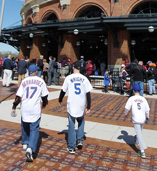 New York Mets fans missed a little work to attend Thursday's opener.