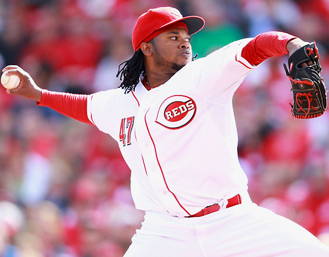Johnny Cueto went seven scoreless innings, striking out four and allowing just three hits as the Reds shut out the Marlins in their traditional home opener. It was Cincinnati's first opening day shutout since 1980.