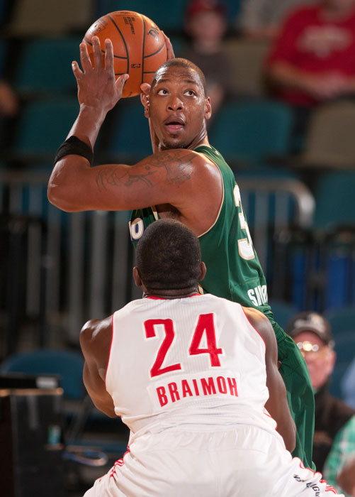 The NBA's Most Improved Player in 2005, Simmons has spent part of three seasons in the D-League, playing for the Mobile Revelers in 2002-03 and suiting up for the Reno Bighorns in 201-11 and 2011-12.